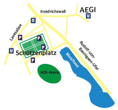 AGV Anfahrt